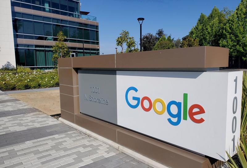 Trụ sở Google tại Mountain View, California - Ảnh: Reuters.