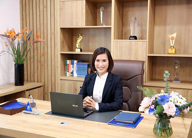 Ảnh bà Bùi Thị Thanh Hương – Tân Chủ Tịch Hội đồng quản trị Ngân hàng NCB