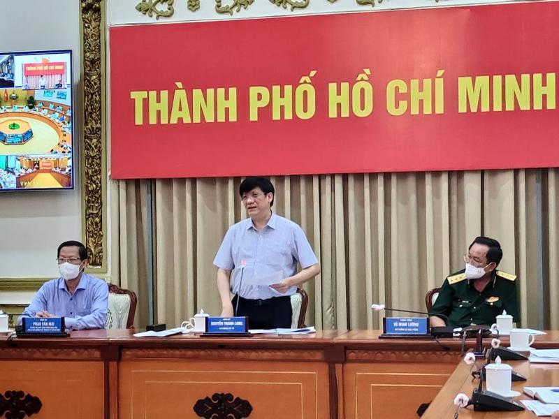 Bộ trưởng Nguyễn Thanh Long đề nghị các địa phương nâng cảnh báo phòng chống dịch lên mức rất cao.