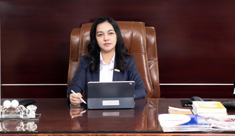 Bà Nguyễn Đức Thạch Diễm, Thành viên Hội đồng Quản trị kiêm Tổng giám đốc Sacombank.
