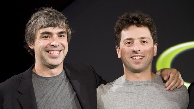 Larry Page (trái) và Sergey Brin - Ảnh: Getty Images