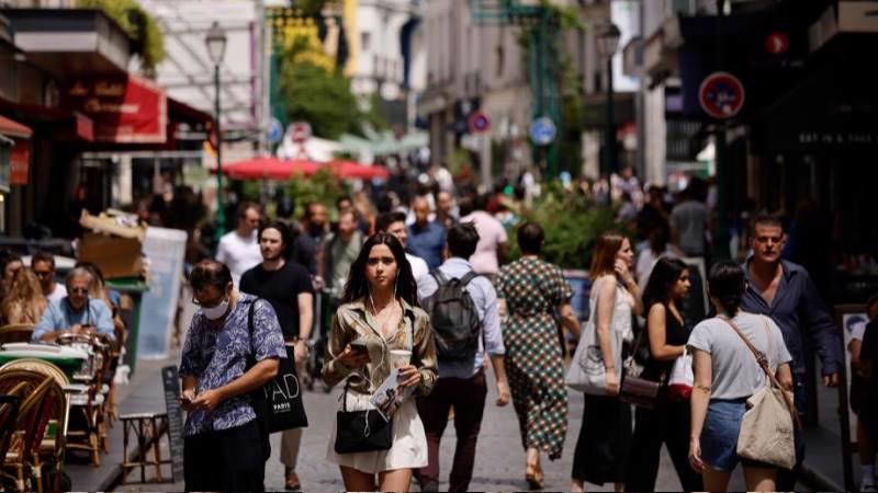 Nều kinh tế Eurozone đang tận hưởng sự khởi sắc trong mùa hè - Ảnh: EPA.