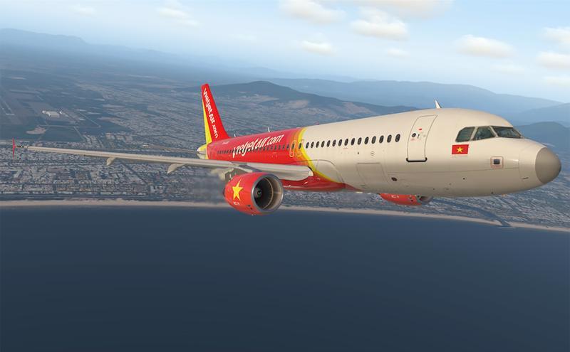 Trong quý II/2021, Vietjet đạt doanh thu vận tải hàng không tăng 51% so với cùng kỳ (ảnh: HT).