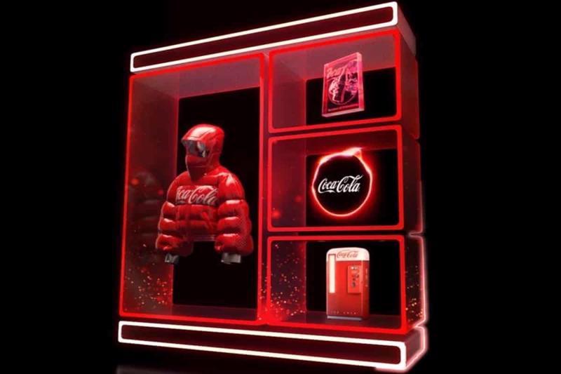 Các NFT trong bộ sưu tập của Coca-Cola - Ảnh: Coca-Cola