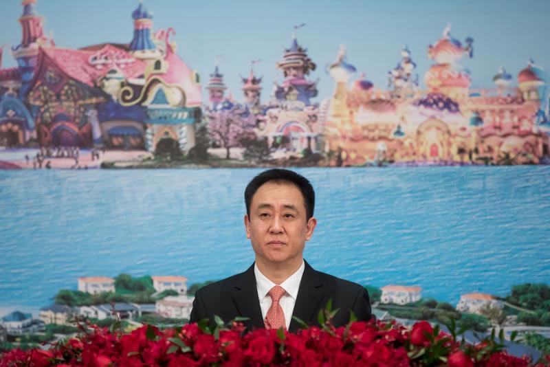 Tỷ phú Hui Ka Yan, Chủ tịch tập đoàn Evergrande - Ảnh: Bloomberg.