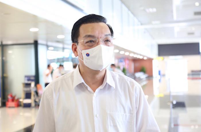 Ông Chu Ngọc Anh, Chủ tịch Uỷ ban nhân dân TP. Hà Nội.