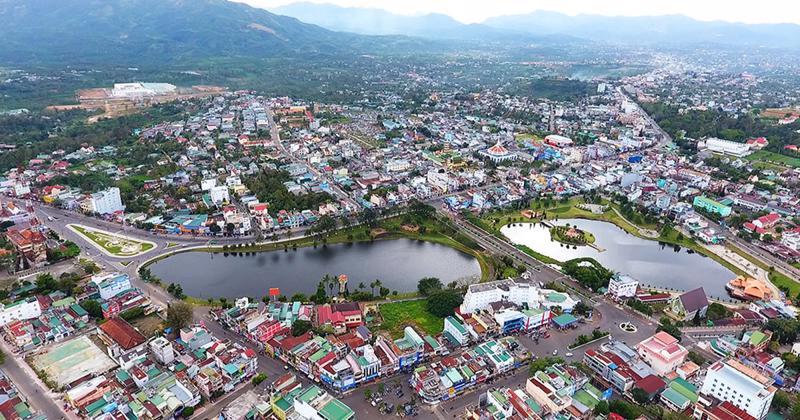 TP. Bảo Lộc, tỉnh Lâm Đồng hướng đến trở thành đô thị sinh thái hiện đại.