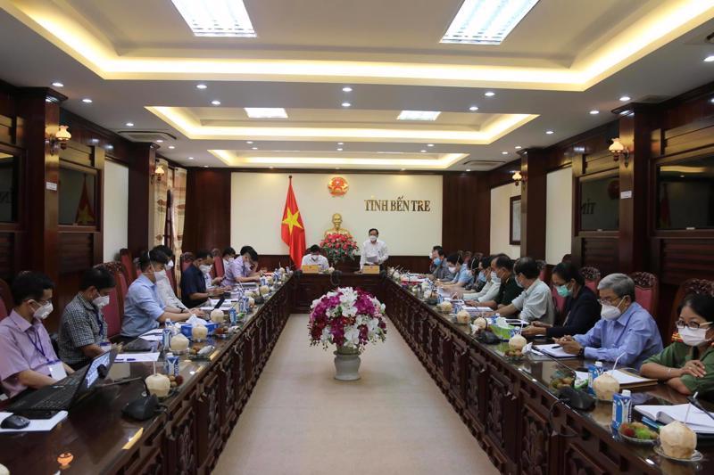 Đoàn công tác Bộ Y tế làm việc tại tỉnh Bến Tre.