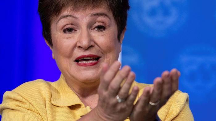 Tổng giám đốc điều hành IMF, bà Kristalina Georgieva - Ảnh: Getty/FT.