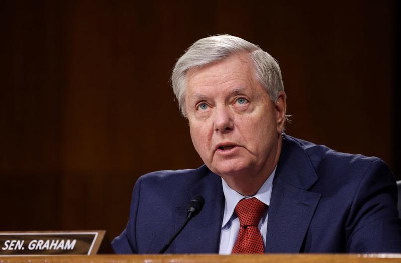 Thượng nghị sỹ Mỹ Lindsey Graham - Ảnh: Reuters.
