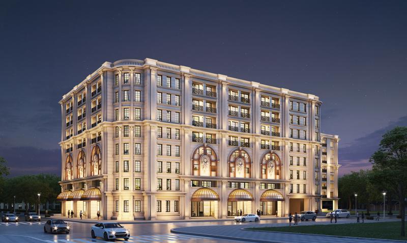 Phối cảnh dự án Khu căn hộ hàng hiệu Ritz-Carlton, Hà Nội.