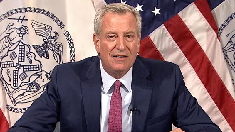 Thị trưởng Bill de Blasio của thành phố New York - Ảnh: Reuters.