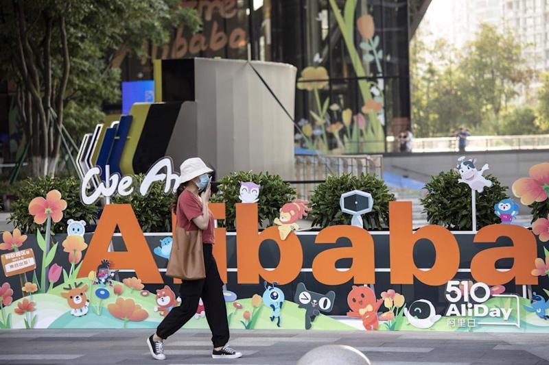 Alibaba chịu nhiều áp lực kể từ cuối năm ngoái, sau khi IPO của công ty liên kết Ant Group bị đình chỉ - Ảnh: Bloomberg