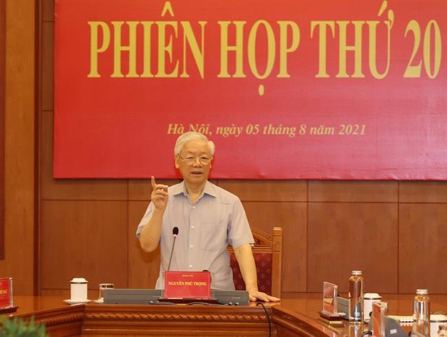 Tổng Bí thư Nguyễn Phú Trọng tại phiên họp - Ảnh: TTXVN