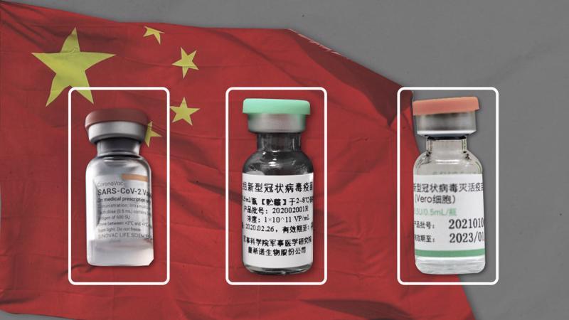 3 loại vaccine của Trung Quốc hiện được sử dụng rộng rãi tại nhiều quốc gia trên thế giới - Ảnh: WSJ