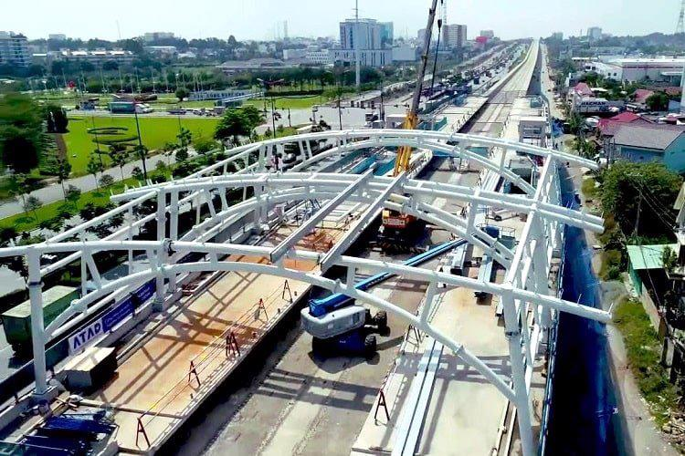 Ảnh minh hoạ: Tuyến metro số 1 Bến Thành - Suối Tiên tại TP.HCM.