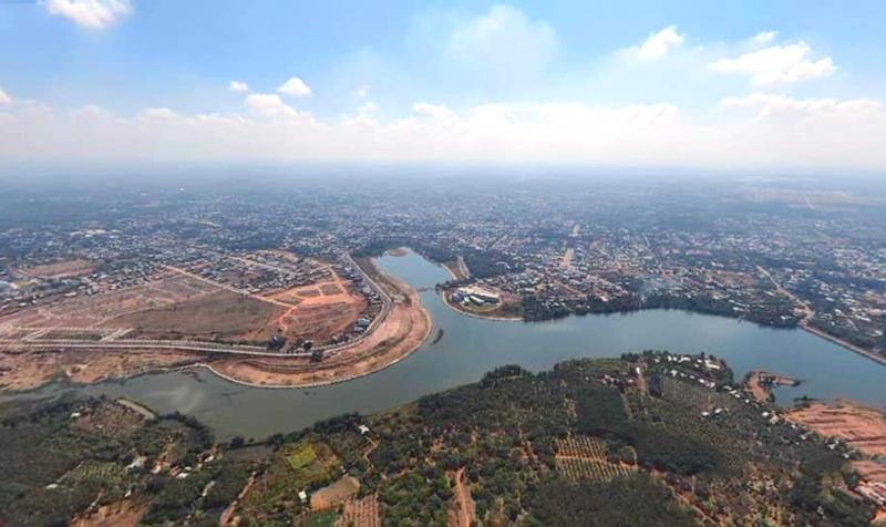 Hồ suối Cam, TP. Đồng Xoài, tỉnh Bình Phước được nhiều doanh nghiệp đề xuất đầu tư dự án bất động sản.