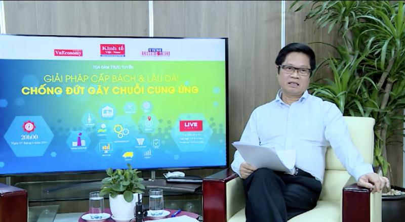 TS. Vũ Tiến Lộc, Chủ tịch Phòng Thương mại & Công nghiệp Việt Nam (VCCI).