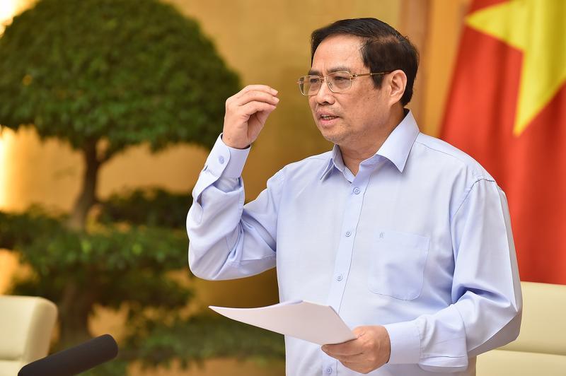 """""""Linh hoạt"""" và """"sáng tạo""""… là hai cụm từ Thủ tướng Phạm Minh Chính thường dùng khi phát biểu hay làm việc với địa phương, các lĩnh vực"""