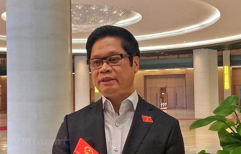 Chủ tịch Phòng Thương mại và Công nghiệp Việt Nam (VCCI) Vũ Tiến Lộc .