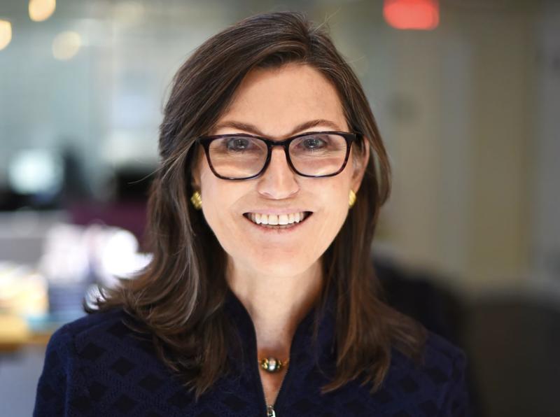 Nhà quản lý quỹ Cathie Wood - Ảnh: WSJ.