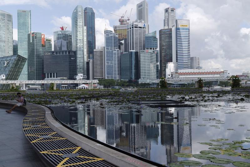 Singapore tiếp tục là một điểm sáng tại Đông Nam Á trong bối cảnh biến thể Covid-19 Delta đang hoành hành trong khu vực - Ảnh: Bloomberg