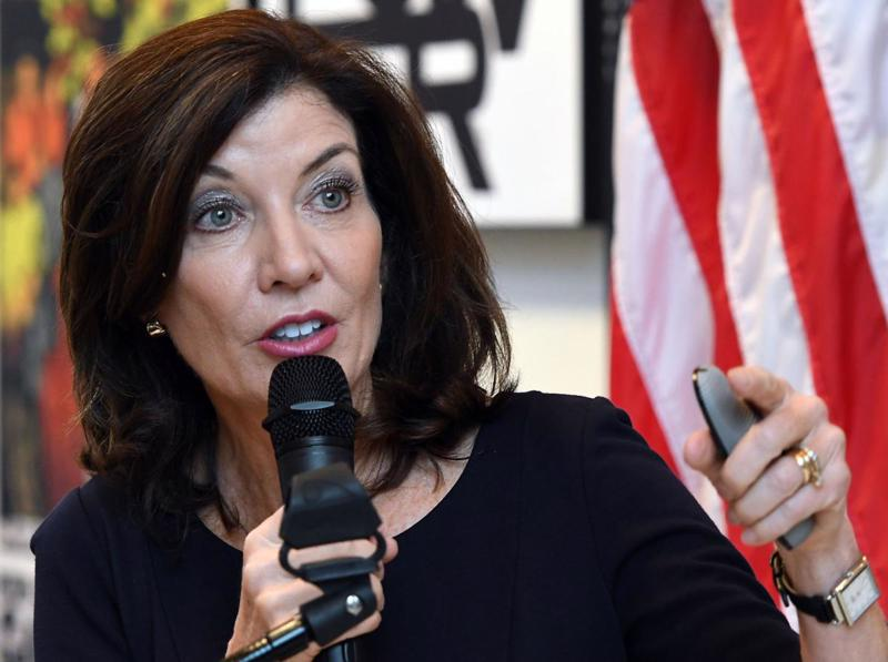 Bà Kathy Hochul, người sắp trở thành Thống đốc bang New York.