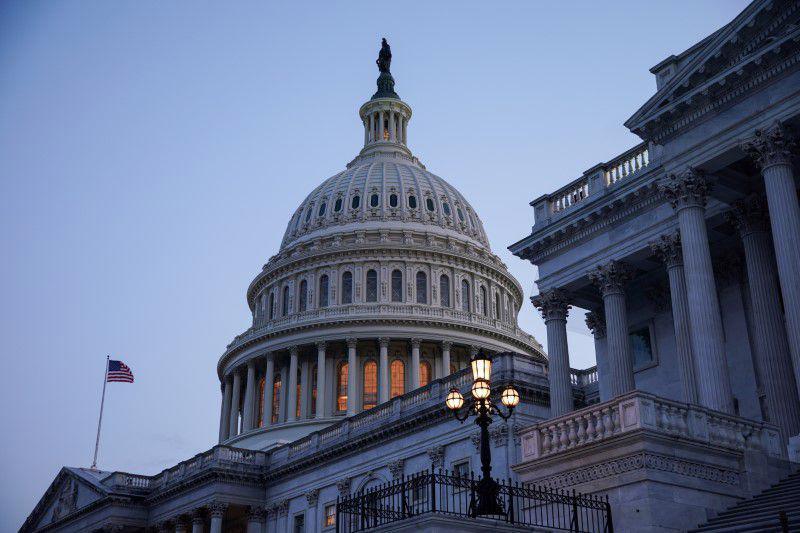 Toà nhà Quốc hội Mỹ ở Capitol Hill - Ảnh: Reuters.