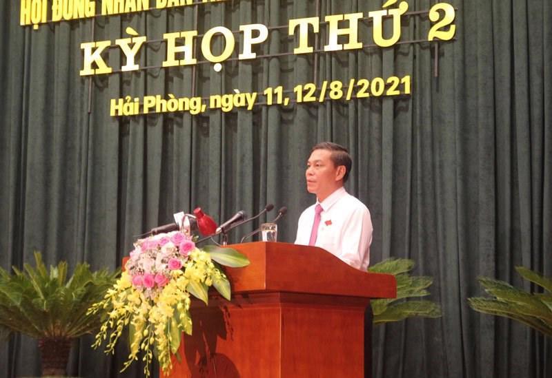 Ông Nguyễn Văn Tùng, Chủ tịch UBND thành phố Hải Phòng
