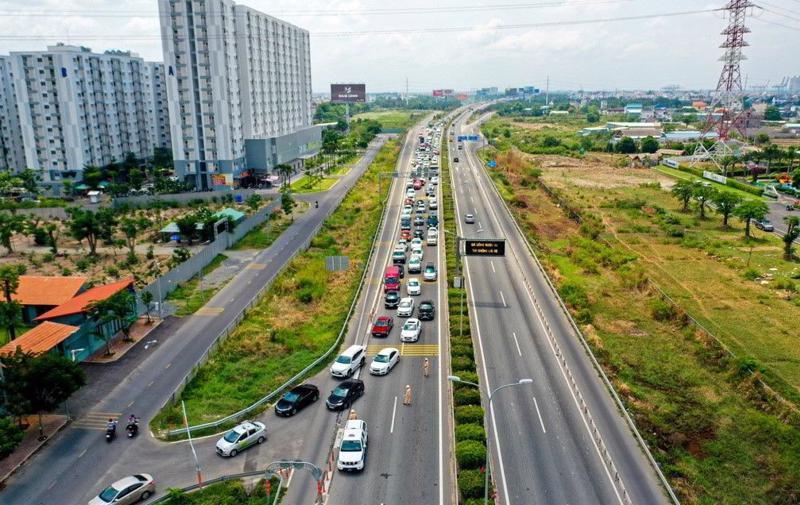 Dự án cao tốc TP.HCM – Long Thành – Dầu Giây đã đi vào sử dụng từ năm 2015.