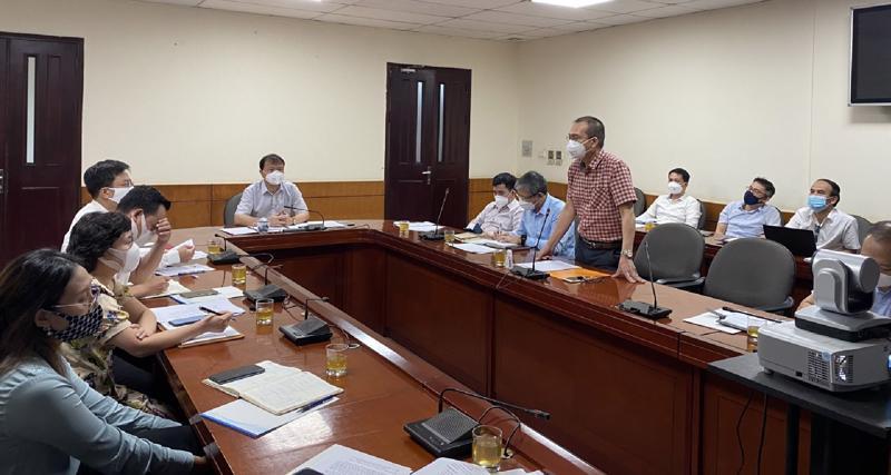 Cuộc họp giữa Bộ Công Thương và các thương nhân đầu mối kinh doanh, sản xuất xăng dầu ngày 12/8/2021.
