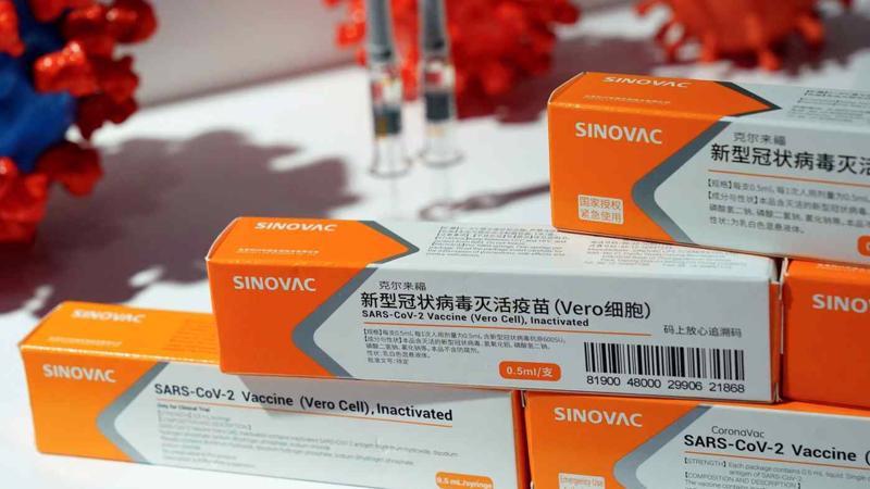 Vaccine CoronaVac của công ty Sinovac Biotech hiện được tiêm rộng rãi tại Thổ Nhĩ Kỳ - Ảnh: Reuters