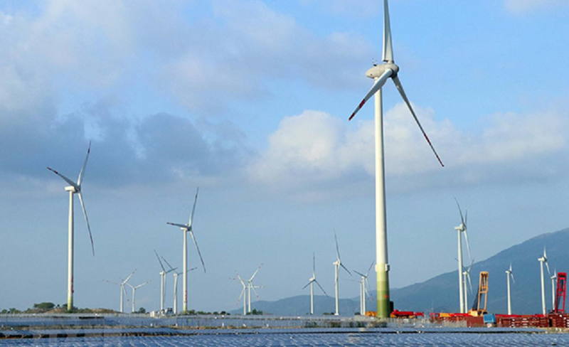 Hàng loạt dự án điện gió chậm tiến độ.