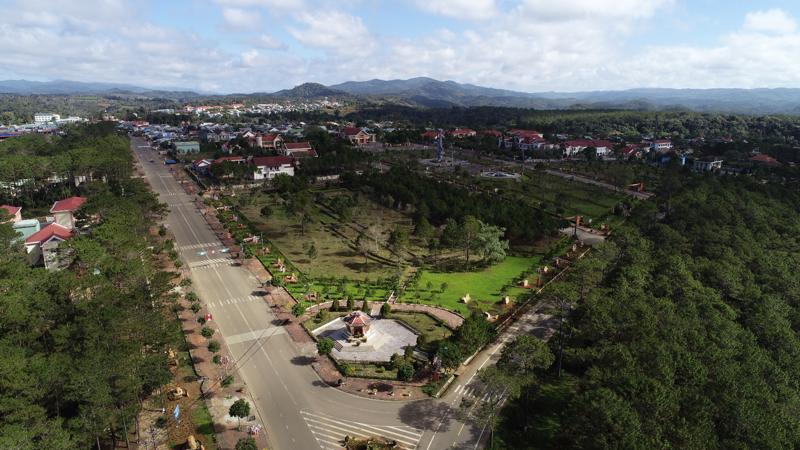 Thị trấn Măng Đen, huyện Kon Plông, tỉnh Kon Tum.