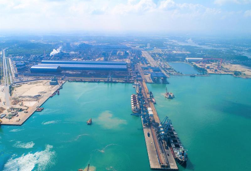 Khu kinh tế Dung Quất (Quảng Ngãi).