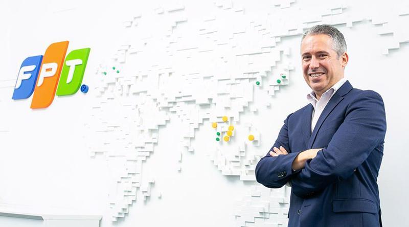 Giám đốc Chuyển đổi số toàn cầu FPT Software - Frank Bignone.