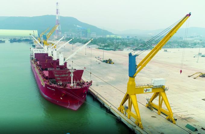 Cảng Nghi Sơn có tốc độ phát triển top đầu cả nước.