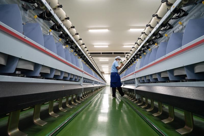 Sản xuất công nghiệp là điểm sáng hiếm hoi của kinh tế Thái Lan giữa đại dịch Covid-19 - Ảnh: Bloomberg