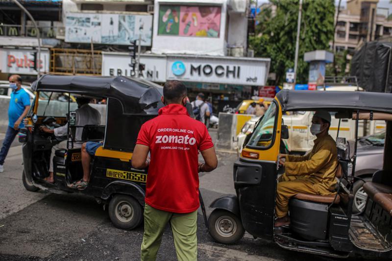 """IPO 1,3 tỷ USD của Zomato là chất xúc tác với thị trường IPO đang """"nóng"""" tại Ấn Độ - Ảnh: Bloomberg"""