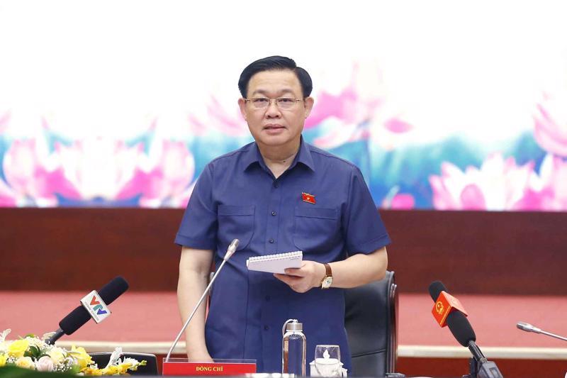 Chủ tịch Quốc hội Vương Đình Huệ - Ảnh: Quochoi.vn