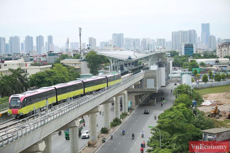 Hà Nội lập Tổ công tác xử lý vướng mắc dự án đường sắt Nhổn - ga Hà Nội.