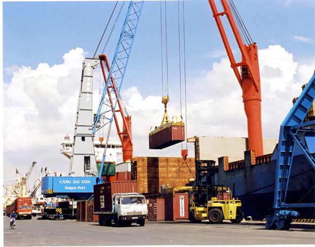Hiện các hoạt động của cảng Cát Lái đang diễn ra thông suốt, không có tình trạng ùn tắc.