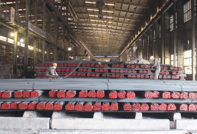 Sản xuất thép 7 tháng năm 2021 tăng 13,8% so với cùng kỳ.