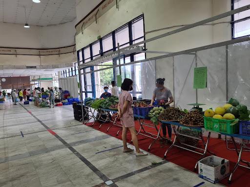 Trung tâm Xúc tiến thương mại thuộc Bộ Nông nghiệp và Phát triển nông thôn được trưng dụng làm nơi tập kết, trung chuyển hàng hoá trong thời gian chống dịch Covid-19