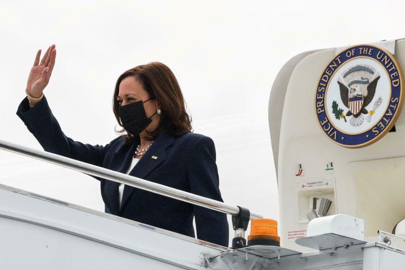 Phó Tổng thống Mỹ Kamala Harris có chuyến thăm Singapore từ ngày 22-24/8 - Ảnh: AP