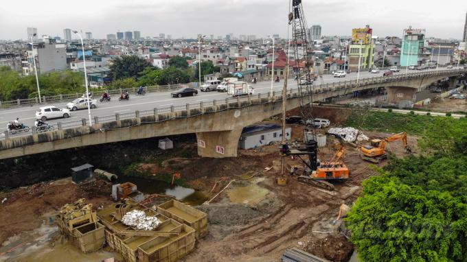 Dự án cầu Vĩnh Tuy 2 vượt sông Hồng hơn 2.500 tỷ đồng, là một trong những công trình được đề nghị cho phép thi công trong thời gian giãn cách.