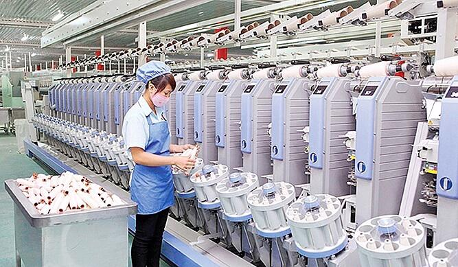 Hướng tới sản xuất vải, xơ, sợi có tính cạnh tranh cao.