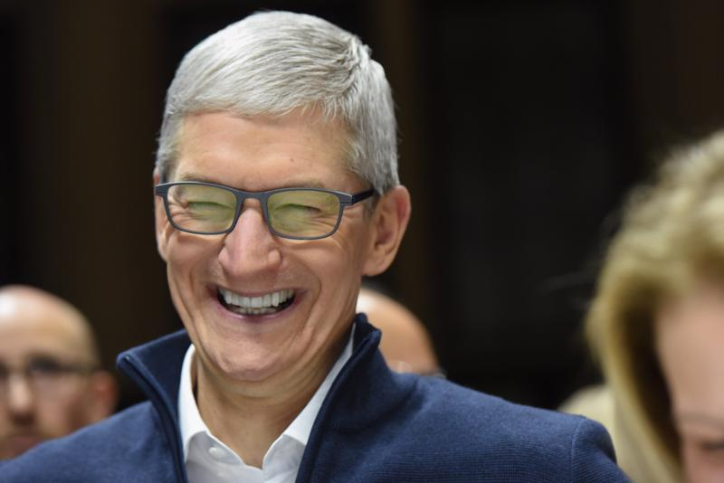 CEO Tim Cook của Apple - Ảnh: Getty Images