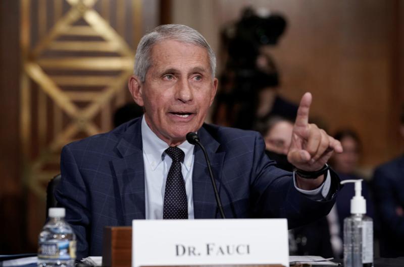 Tiến sỹ Anthony Fauci, chuyên gia cấp cao nhất của Mỹ về bệnh truyền nhiễm - Ảnh: Reuters.