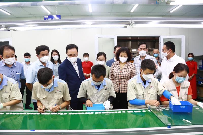 Hai doanh nghiệp tại Bắc Ninh đã giảm được tỉ lệ lỗi sản phẩm lần lượt trên 20% và 50%.
